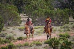 kowboja rabuś Zdjęcie Royalty Free