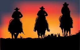 Kowboje Zdjęcia Royalty Free