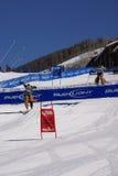 kowboje target483_1_ skoku narciarstwo Obraz Royalty Free
