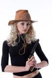 kowbojka Zdjęcie Stock