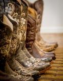 kowbojka buty Zdjęcia Stock