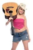 kowbojka śpiew Obraz Stock