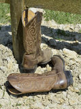 Kowbojscy buty Zdjęcie Stock