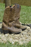 Kowbojscy buty Obraz Stock
