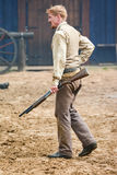 Kowbojscy Gunfighters Obrazy Stock