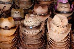 kowbojscy kapelusze Zdjęcie Stock