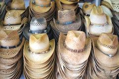 Kowbojscy kapelusze Fotografia Royalty Free