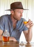 Kowbojscy mężczyzna Fotografia Stock