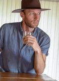 Kowbojscy mężczyzna Obrazy Royalty Free