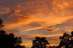 Kowbojscy nieba Obrazy Stock