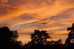 Kowbojscy nieba dwa Zdjęcia Royalty Free