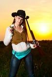 kowbojska kobieta Fotografia Stock