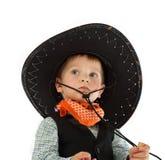 Kowbojski dziecko Fotografia Royalty Free