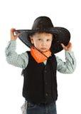 Kowbojski dziecko Fotografia Stock