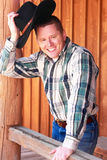 kowbojski powitanie howdy ma Zdjęcia Stock