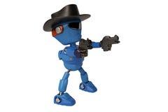 Kowbojski robot Obrazy Stock
