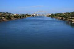 Kowie-Fluss Südafrika Lizenzfreies Stockfoto