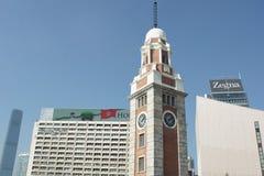 Kowlook Zegarowy wierza w Hong Kong zdjęcie stock