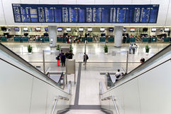 Kowloon airport express station, hong kong Royalty Free Stock Photos