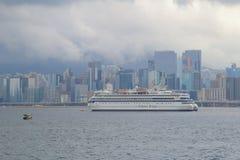 Kowloon bay and kai tak cruise terminal Stock Photo