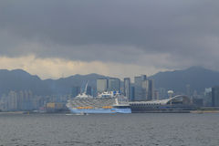 Kowloon bay and kai tak cruise terminal Royalty Free Stock Photography