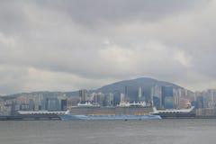 Kowloon bay and kai tak cruise terminal Royalty Free Stock Photos
