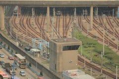 Kowloon-Bucht Lizenzfreies Stockfoto