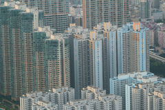 Kowloon cityscape with landmark building Royalty Free Stock Photography