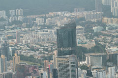 Kowloon cityscape with landmark building Stock Photography
