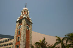 Kowloon clocktower Stock Photos