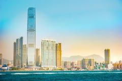 Kowloon del oeste, Hong Kong fotografía de archivo
