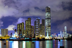 Kowloon district in Hong Kong Stock Image