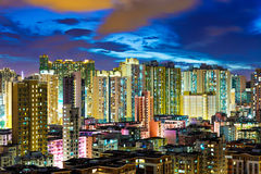 Kowloon district in Hong Kong Stock Photography