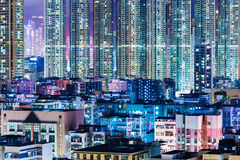 Kowloon district in Hong Kong Stock Photos