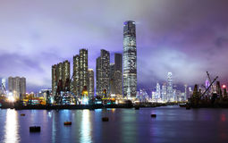 Kowloon district in Hong Kong Royalty Free Stock Images