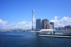 Kowloon downtown in Hong Kong Royalty Free Stock Photo