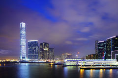 Kowloon downtown in Hong Kong Royalty Free Stock Images