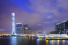 Kowloon downtown in Hong Kong Stock Photo