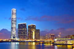 Kowloon downtown in Hong Kong Stock Images