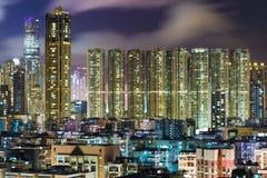 Kowloon downtown in Hong Kong Stock Image
