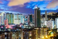 Kowloon downtown in Hong Kong Royalty Free Stock Image