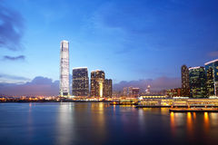Kowloon en Hong Kong photo libre de droits