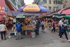 Street Market Kowloon Royalty Free Stock Photography