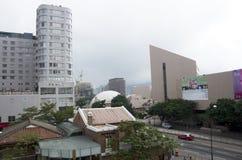 Kowloon Hong Kong moderna byggnader Royaltyfria Bilder
