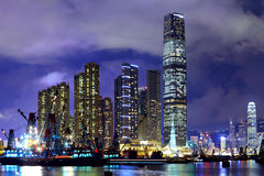 Kowloon in Hong Kong Stock Photo