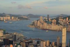 Kowloon, Hong Kong Skyline Stock Images