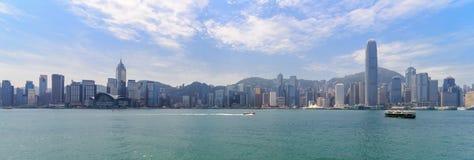Kowloon horisont Fotografering för Bildbyråer