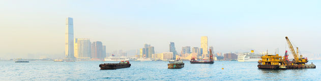 Kowloon island Stock Image