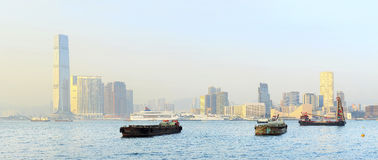 Kowloon island Royalty Free Stock Photography