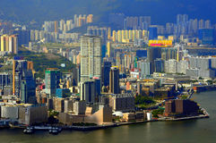 Kowloon island, hong kong Royalty Free Stock Photography